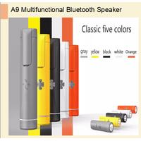 Flashlight bluetooth speaker