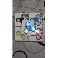 LED Light 3 Bar Fidget Spinner EDC Stress Cure Toy ABS Hand Spinner