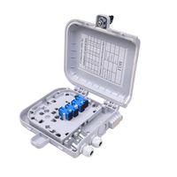 outdoor/indoor FTTH Fiber optic plastic Distribution box 8core waterproof IP55 PC/ABS