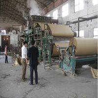 Craft paper making machine