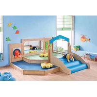 Kids Play Wooden Climber Toddler Mini Indoor Playground Preschool Corner play equipment