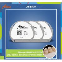 Dental equipment supplies cad/cam system zirconia ceramic block with good price