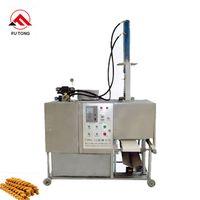Best Selling hemp flowers cutting machine twist biscuits maker fried dough twist forming machine