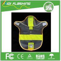 Luminous Dog Cat Pet Raincoat Dog Clothes Mantle Vest