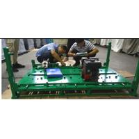 Customize Warehouse Sliding Engine Storage Rack Metal Pallet, Logistics