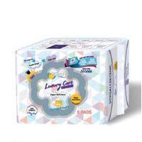 OEM Brand Free Samples 250mm, 300mm Lady External Use Regular SanitaryNapkin Pads
