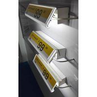LUXX original design LED shelf lighting  shelftag lighting