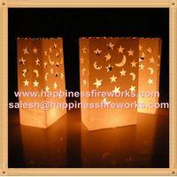 celebration decorative paper candle bags