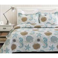 bedspread-Sea Shell H&J Industrial