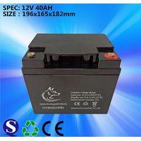 Deep Cycle 12v40ah VRLA Rrchargeable Maintenance Free Lead Acid Battery