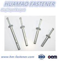 Zinc alloy hammer drive anchor China Zamac Nail Anchor