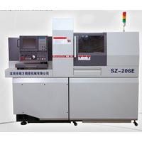 SZ-206E Dual spindles swiss type automatic lathe sliding head lathe