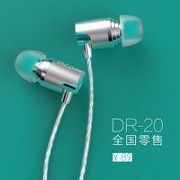 Ultra Slim Mini Portable Headphone--DR-20 Emerald