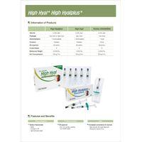 Orthopedic : Hyaluronic Acid PreFilled Syringe