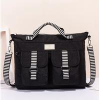 Custom casual fashion travel hand bags wholesale retro vintage messenger bags & canvas handbag