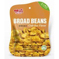 FDA,HALAL Crab roe flavor Broad beans snacks