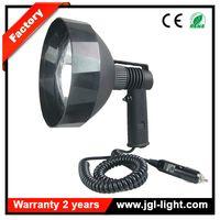 Very cheap price 100w halogen hunting lamp 175mm reflector 12v handheld hunting spotlight