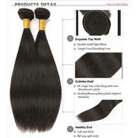 Wholesale Cheap High Quality Straight Hair Brazilian Virgin Human Hair Extension