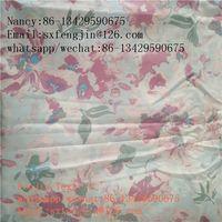100% rayon printing poplin fabric for dress