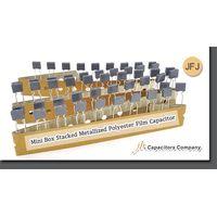 JFJ--Mini Box Stacked Metallized Polyester Film Capacitor