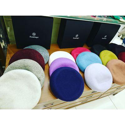 Merino Wool 100 beret