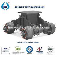 Hos Small 12 Ton Agriculture Semi-trailer Suspension Axles For Sale