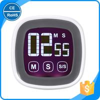 KH-0002 Unique Touch Screen Kitchen Timer Mini Countdown Digital Timer