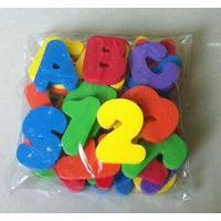 Unique colorful letter EVA foam bath toys made in Huizhou