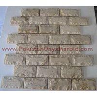SAHARA GOLD (CHAMPAIGN) MARBLE MOSAIC TILES