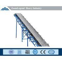 high efficiency rubber belt conveyor for sale