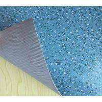White Mesh Fabric PVC flooring