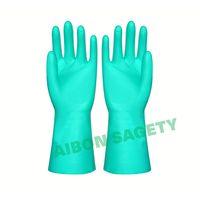 household latex nitrile glove flocklined