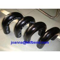 carbon steel butt welded pipe fittings 180Degree LR Elbow
