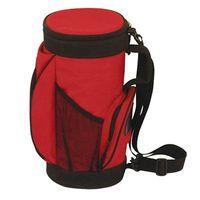 Net barrel cooler bag with red belt side fxsdl07