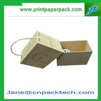 Custom Printing Presentation Box Kraft Paper Box Lid and Base Boxes