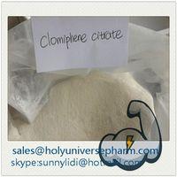 Clomiphenes Citrate Clomivid /Anti-estrogen powder /CAS911-45-5