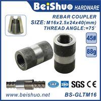 M16 High Quality Rebar Connector /Rebar Joint /Rebar Coupler