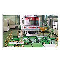 CNC under-floor wheel lathe