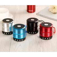 HIFI Stereo portable mini metal bluetooth wireless speaker ws 887 USB TF mini speaker