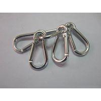 High quality snap hooks steel metal spring hook factory snap hook