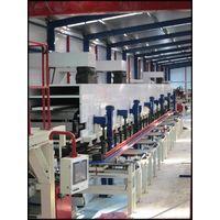 EPS/PU/PIR sandwich panel production lines