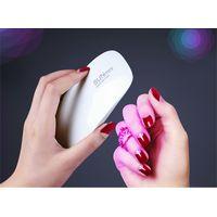 Portable mini sun 6W nail led lamp manicure curing lamp