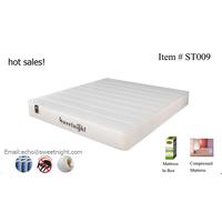 OEM hotel mattress, queen king size latex hybrid pocket spring mattress