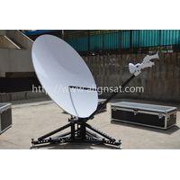 Alignsat 1.8m C and Ku band Carbon Fiber Flyaway Antenna