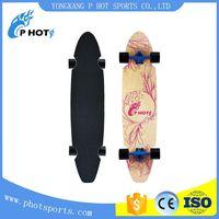 43 inch long board skateboard 7 layer Northeast Maple skate board blank skateboard decks wholesale