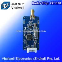 VW1101A Series Wireless Module VW1101A 10mW 1200bps ~ 256kbps CC1101 232TTL UART RF Module