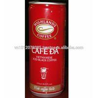 Vietnamese Iced Black Coffee 235ml FMCG products Wholesale