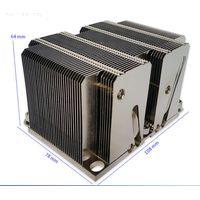 2017 New 2U Passive stack fin 160W LGA3647 CPU/Server heatsink with heat pipe
