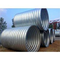 Road&Tunnel Culvert Concrete Construction of Galvanized Corrugated Steel Culvert Pipe