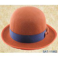 pure wool felt bowler hat